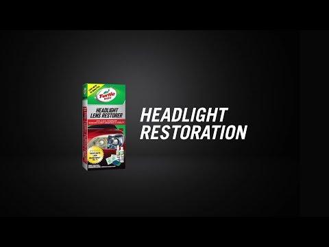 Turtle Wax Headlight Restoration Kit // Supercheap Auto