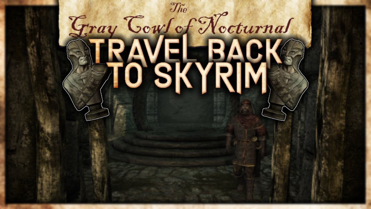 How To Travel Back To Skyrim From The Alikr Desert The Gray Cowl