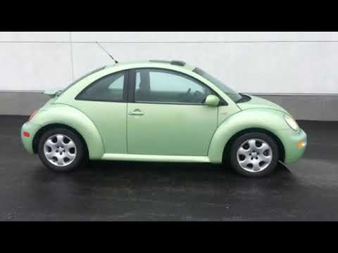 Used 2002 Volkswagen Beetle Bowling Green OH Perrysburg, OH #P1438A - SOLD