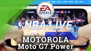 NBA Mobile auf MOTOROLA Moto G7 Power - Gameplay