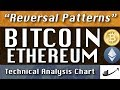 """""""Reversal Patterns"""" BITCOIN : ETHEREUM  Update CryptoCurrency Technical Analysis Chart"""