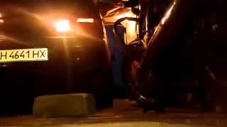 Заезд в гараж на ВАЗ 2115