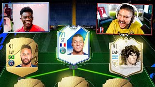 I PLAYED ALPHONSO DAVIES ON FIFA 22!! HE HAS VIP MBAPPE!!