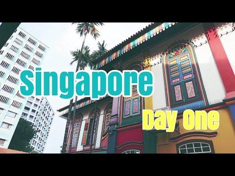 Travel Vlog || SINGAPORE - Travel Day + Little India