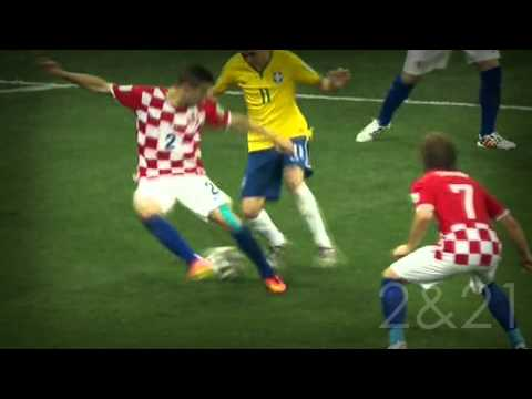 Oscar VS. Croatia - WC 2014 [HD]