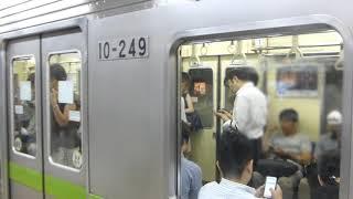 【2017.07.13】都営新宿線10-240編成引退