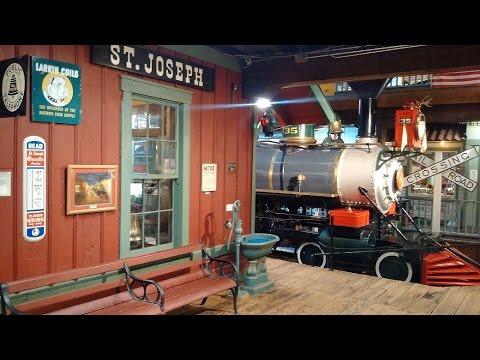 Patee House 1860 Steam locomotive