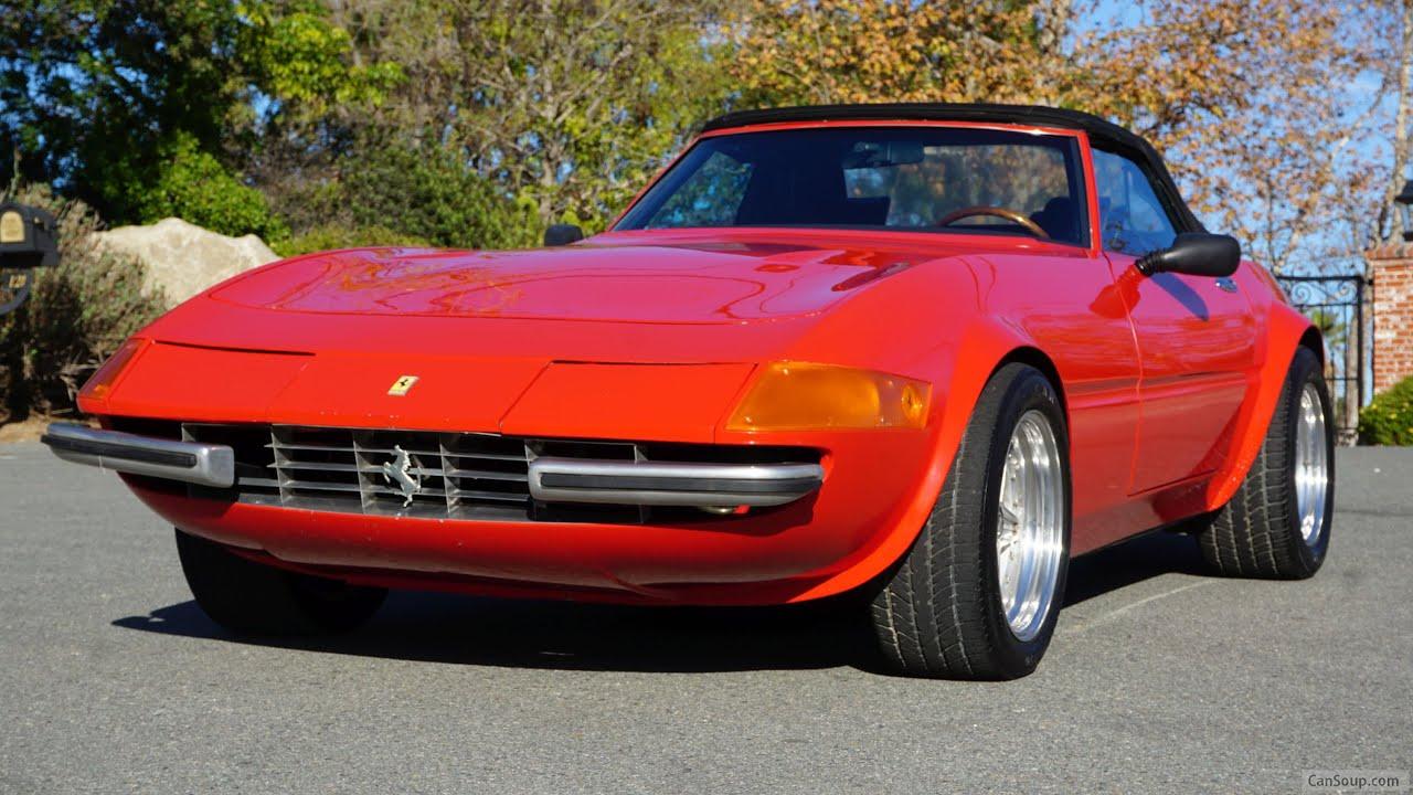 Ferrari 365 4 Gts Gtb Video Review Miami Vice California Daytona Spyder Mcburnie Youtube