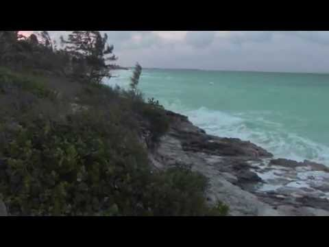 Hurricane Matthew - Seas Building Up In Exuma Bahamas