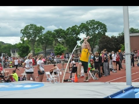 GB Preble's Jake Wallenfang sets a state record in the pole vault