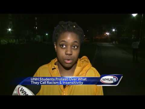 UNH students protest over racial incidents