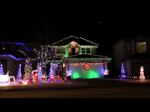 Christmas Light Display in Calgary
