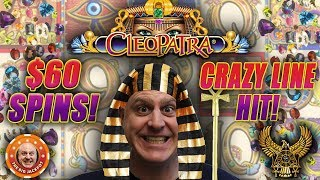 💥LINE HIT SURPRISE! 💥Cleopatra Hits BIG at $60 a Spin 🎰