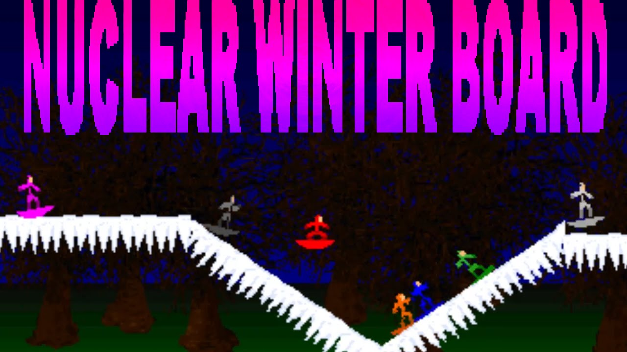 Nuclear Winter Board! w/ Free download [My Brother Made ...