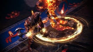 Path of Exile: Divine Herald Skill Effect