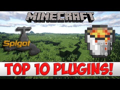 Minecraft  TOP 10 Bukkit/Spigot Plugins of 2016
