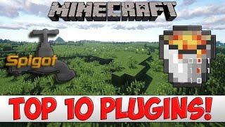 Minecraft - TOP 10 Bukkit/Spigot Plugins of 2016