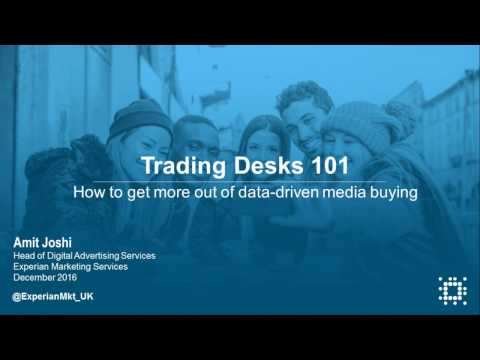 Trading Desks 101 – how to get more out of data-driven media buying