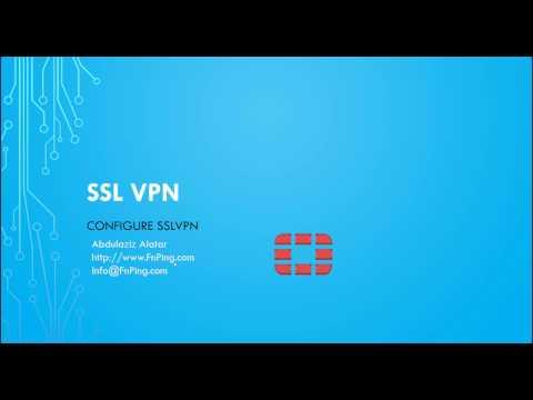 How to Configure SSL VPN