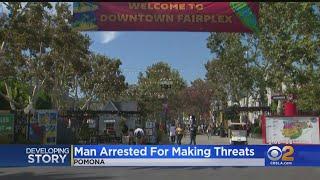 Sylmar Man Arrested For Making False Threats To LA County Fair