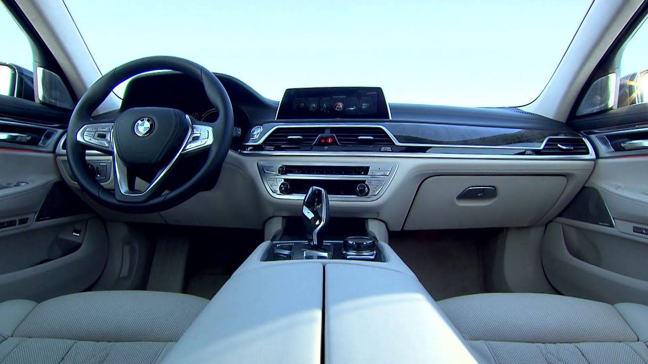 2016 BMW 750Li Interior Design
