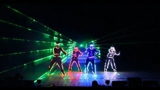 "Super Cool Tron LED Laser Light Dance Show by RDF ""DANCE BOOM"" 