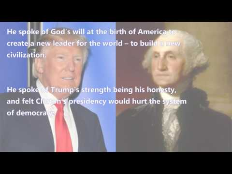 The Spiritual Interview with George Washington:Hillary Clinton vs Donald John Trump