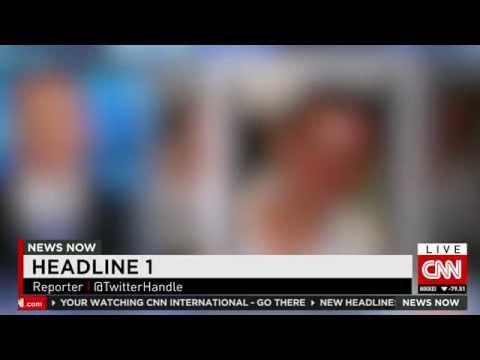 CNN International New Graphics - Initial Mock