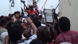 Intentan linchar a dos asaltantes en Altepexi