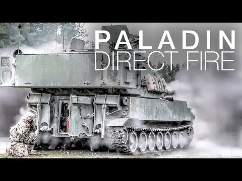 Paladin Howitzers Obliterate Targets With Explosive Direct Fire