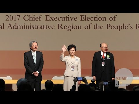 Carrie Lam is Hong Kong's next chief executive