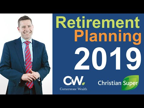 2019 Retirement Planning Webinar