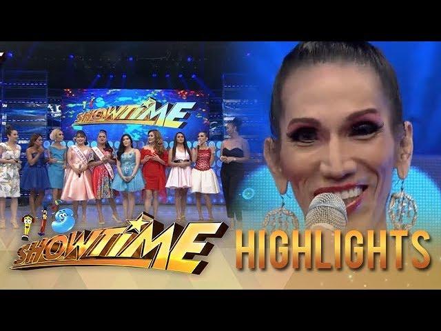 It's Showtime: It's Showtime hosts notice Odessa Jones' fresh look