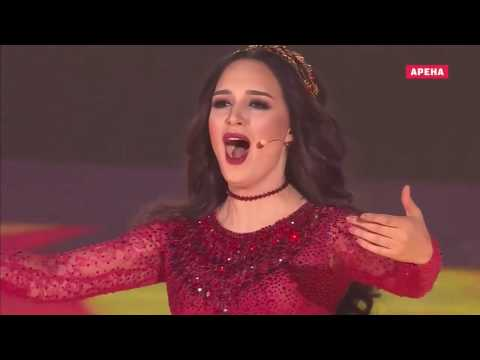 DIMASH KUDAYBERGEN Ft ZARINA ALTYNBAYEVA - Question Of Honour (Universiade 2017) HD