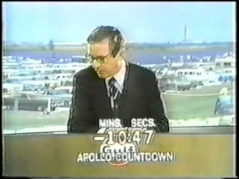 NBC NEWS Coverage of the Launch of Apollo 16   Part 1 of 5