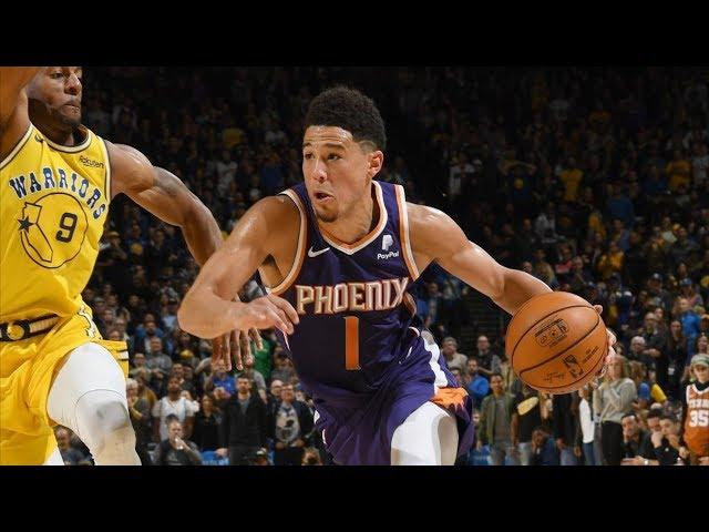Suns Beat Warriors! Booker 17 4th QTR Points! 2018-19 NBA Season