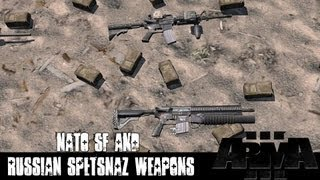ArmA 3 Mods Massi S NATO SF And Russian Spetsnaz Weapons