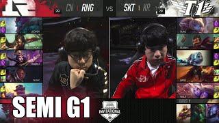 RNG vs SKT T1   Game 1 Semi Finals LoL MSI 2016   Royal Never Give Up vs SK Telecom T1 G1 MSI