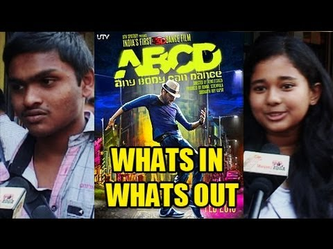 Public Speaks On Anybody Can Dance (ABCD) - What's In, What's Out [HD]