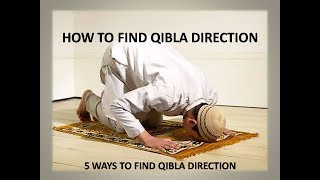 5 Ways To Find Qibla Direction [Chose according to your situation] screenshot 4