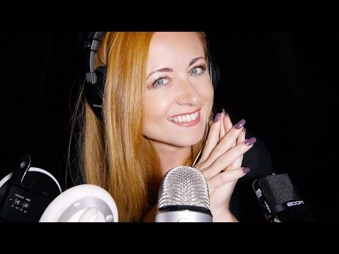 Touching Microphones ASMR ♥︎ Soft Touches, Tapping & Scratching