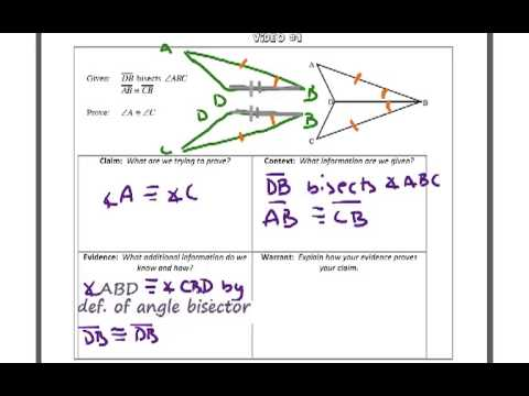 Triangle Proofs Involving Cpctc