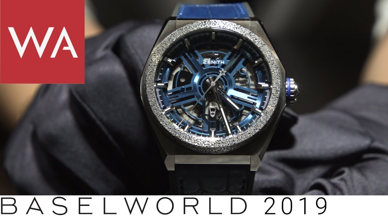 meet 9c604 0cd42 Baselworld 2019: Zenith - hands-on some technically sophisticated novelties.