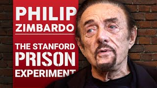PHILIP ZIMBARDO - THE STANFORD PRISON EXPERIMENT Part 1/2 | London Real