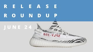 Zebra adidas Yeezy Boost Returns and More | Release Roundup June 24th