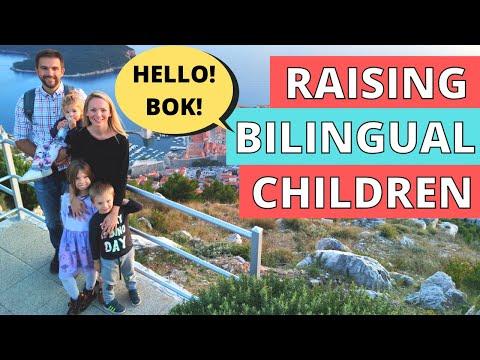 Raising Bilingual Children, IT'S NOT EASY! What Worked & What DIDN'T! Kids Speak Croatian & English - Royal Croatian Tours