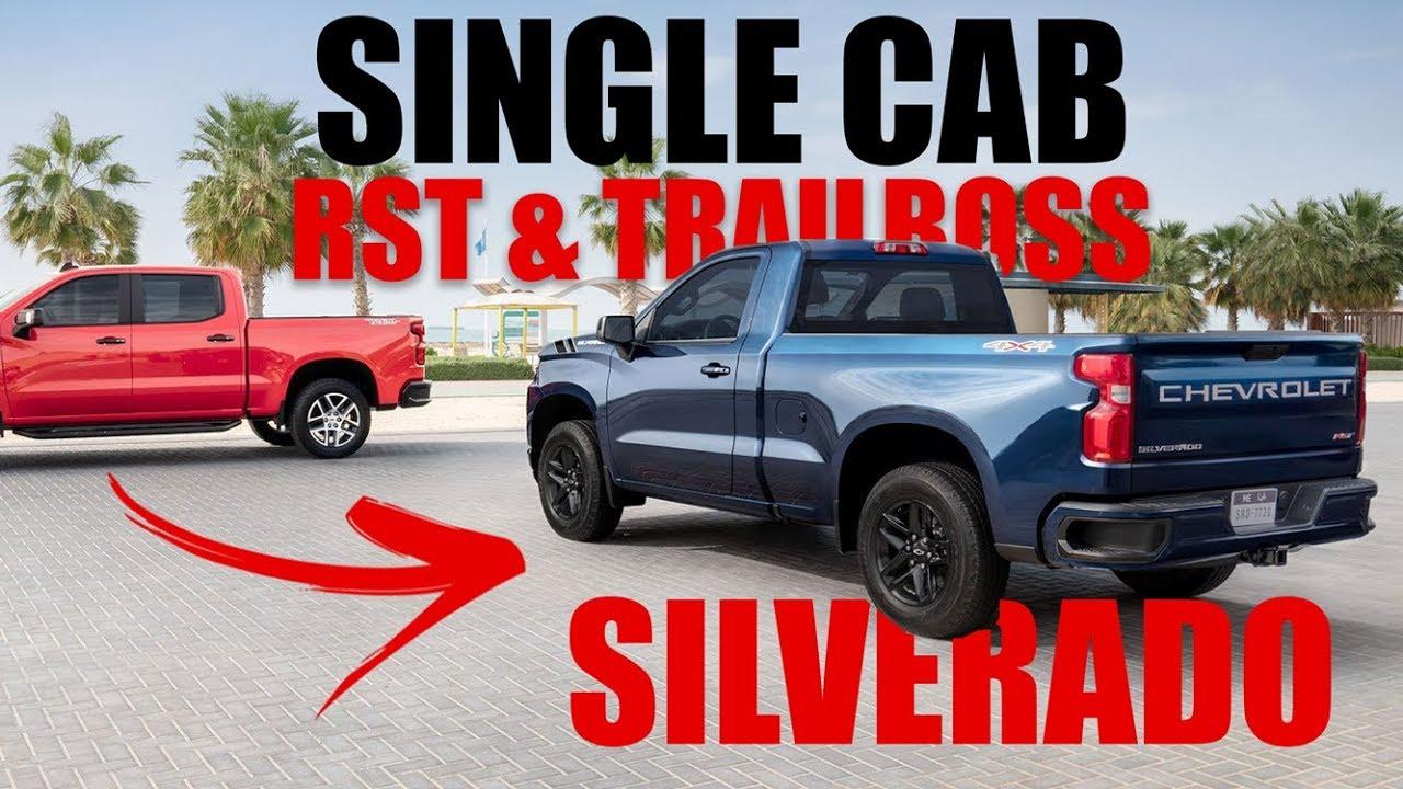New 2020 - 2019 Chevy Silverado RST & Trailboss Single cab ...