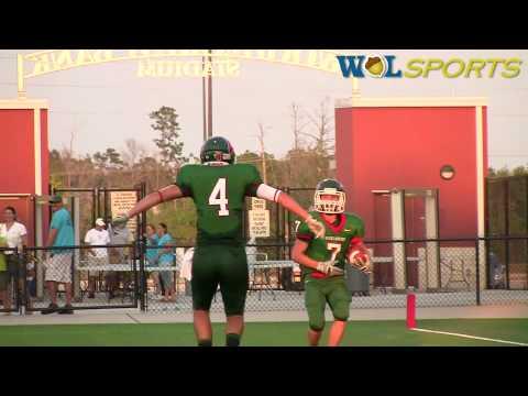 The Woodlands Highlanders vs. Monterrey Tech High School Football Highlights, 2010