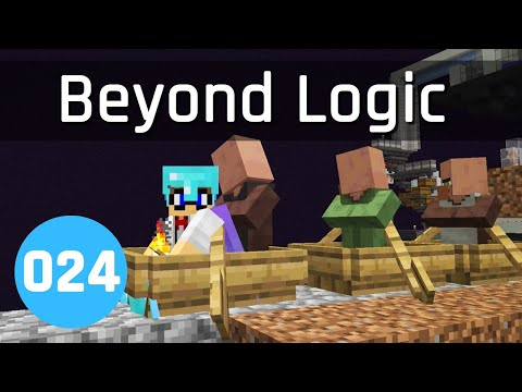 Beyond Logic #24: Iron Man (Part 1) | Minecraft