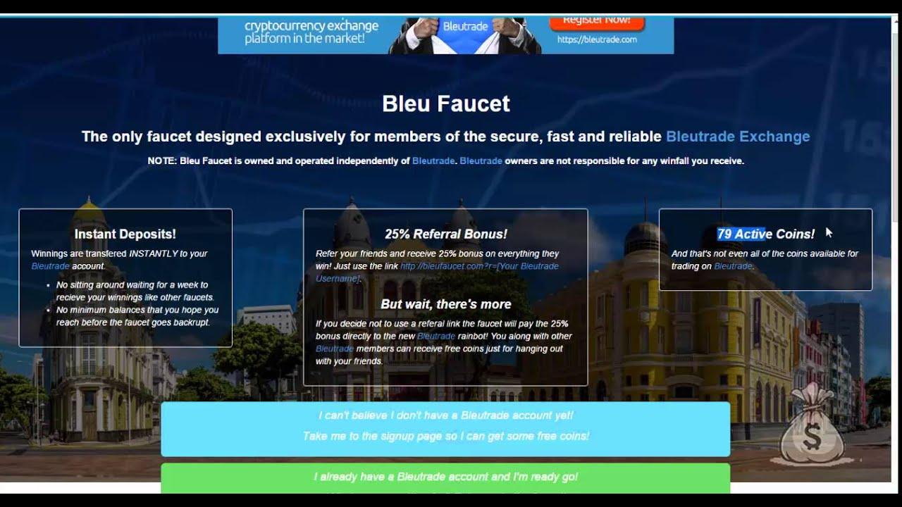 79 криптовалют на одном кране - Биржа Bleutrade